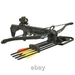 175 lb Avalanche Recurve Hunting Crossbow Bow + Scope + Bolts + Quiver + Etc