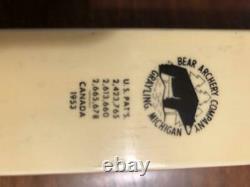 1953 BEAR Bearcat Traditional Recurve RH Hunters