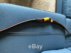 1959 Bear Archery Kodiak Repro 60 AMO 45# Maple Window- Mint Condition