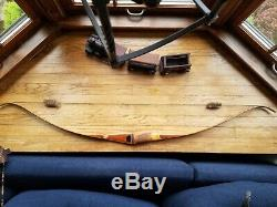1960 Bear Grizzly Vintage Recurve Bow