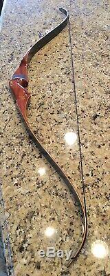 1963 Bear Kodiak Magnum Dogleg Type 3 Vintage Recurve Bow 55 pound RH