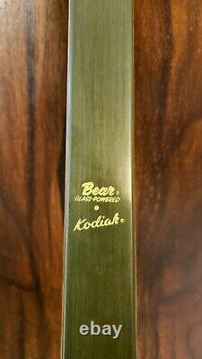 1965 Bear Kodiak Recurve Bow #55