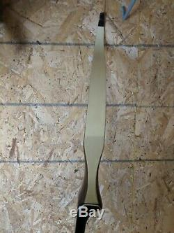 1969 Bear Archery TAMERLANE Target 25# 63 Recurve bow Right hand! Butcher block