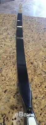1972 Vintage FRED BEAR SUPER MAGNUM 48 RECURVE BOW RIGHT HAND 40 Pound
