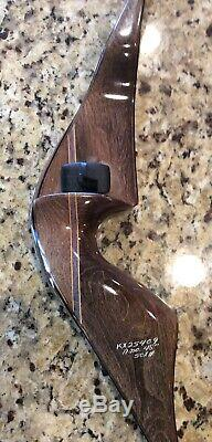 1976 Vintage FRED BEAR SUPER MAGNUM 48 RECURVE BOW RIGHT HAND 50 Pound