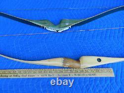 2 Very Nice Archery Bows Bear Kodiak Magnum Recurve Bow And 60 Bear Cub Bow