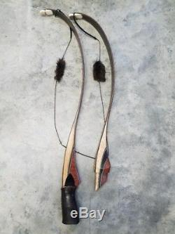 2017 GREAT PLAINS Traditional Recurve Bow SWIFT LONG CURVE Black widow, Bear