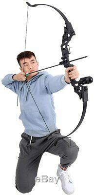30-50LBS Takedown Archery Recurve bow Longbow Set Arrow Adult Outdoor Hunting