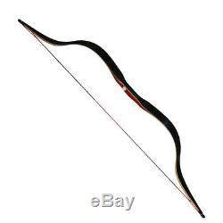 30-50lbs Laminated Limbs Recurve Bow Longbow Horsebow Archery Hunting Shooting