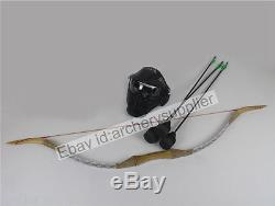 30 lb Larp Archery Bow and Arrows Set Boffer Arrows Safe Arrows