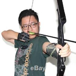 35lbs 56 Takedown Recurve Bow Hunting Archery Alloy Riser Shooting Right Hand