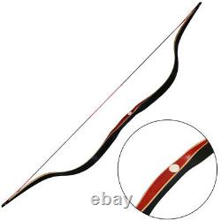 50lbs Laminated Handmade Longbow Traditional Archery Recurve Bow Hunting Adult