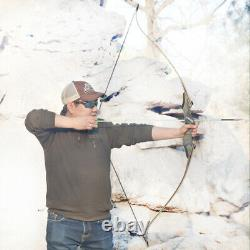 60 30-50lb Takedown Recurve Bow Archery Right Hand Longbow Hunting Adult Target