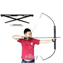 60 Aerometal Archery Foldable Folding Takedown Recurve Bow 40-60lbs Optional