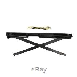 60lbs Black Outdoor Archery Hunting Folding Bow Longbow Right Hand Recurve Bow