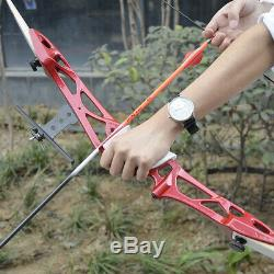 64 30LBS Archery Takedown Recurve Bow Kit Arrows Adult Beginners Right Hand