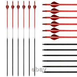 70LB Takedown Recurve Bow Set Archery Arrows Quiver Boradheads RH Adult Camo