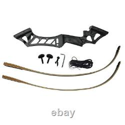 70lb Archery RH Takedown Recurve Bow Set Hunting Arrows Outdoor Sport Adult