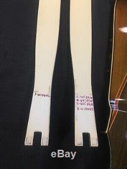 Archery Vintage Recurve Bow Early Bear Stripe Kodiak Takedown Exc C- 1815 66