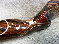 Archery recurve bow Rose Oak Ultra Delight LEFTY, mint 44#x60