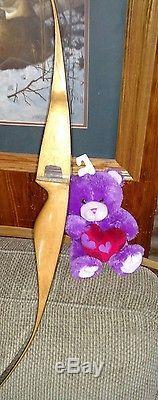 BEAR Archery BLACK BEAR 40# 60 Recurve Bow LEFT HANDED GRAYLING Mi