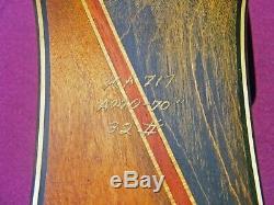 BEAUTIFUL VINTAGE BEAR HC-300 TAMER LANE RH 70, 32# TARGET RECURVE BOW withSTRING