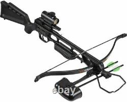 Barnett XR250B Recurve Crossbow Black Ready to Shoot Red Dot (New open Box)