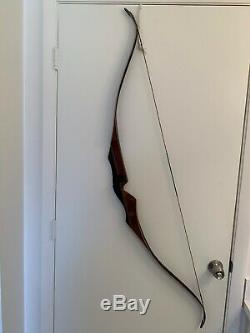 Bear 60 Super Kodiak Recurve Bow RH 35# Excellent Lightly Used Condition