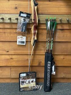 Bear Archery Bullseye X Take Down RH 62 29LB Recurve Bow DELUXE PACKAGE
