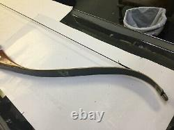 Bear Archery Company Recurve Wood Bow Glass Powered Kodiak Magnum 52 45# 15bh25