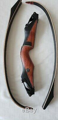 Bear Archery Kodiak Takedown A Riser RH Phenolic/Bubinga #3 45# limbs