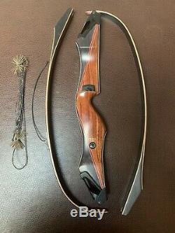 Bear Archery Kodiak Takedown B Riser RH Black Maple/Bubinga #3 50# limbs