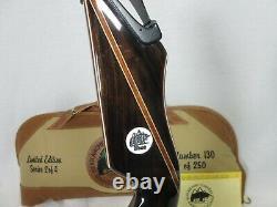 Bear Archery Limited Edition Kodiak Custom 40# RH Take down Recurve Bow 213/250