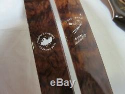 Bear Archery Limited Edition Kodiak Custom 50# RH Take down 243/250 Recurve Bow