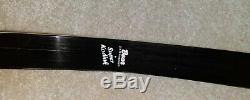 Bear Archery Rh 35# Super Kodiak Recurve Bow Black Beauty 60 Amo