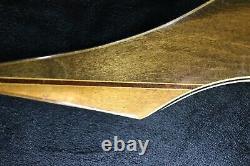 Bear Bow Super Kodiak Vintage RH Recurve 50#, AMO 60 All Original VTG Wooden