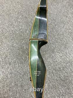 Bear Grizzly Glass Powered Wooden AMO 58 50x# RH Recurve Bow Vintage #KR37816