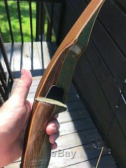 Bear Grizzly Longbow Bow