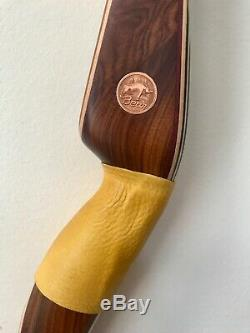 Bear Kodiak 59 Recurve bow Purple Heart Rosewood Right Hand 40 lbs. 60 AMO
