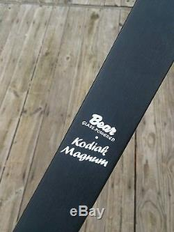 Bear Kodiak Magnum Recurve Bow 55# RH 52 amo Laminated Bow