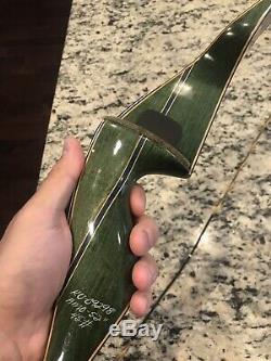 Bear Kodiak Magnum Recurve Bow Rt Hand 45 Lbs Relisted