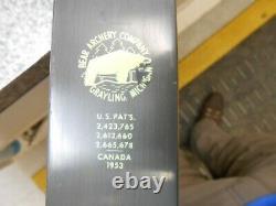 Bear Kodiak Magnum recurve bow LH 1963