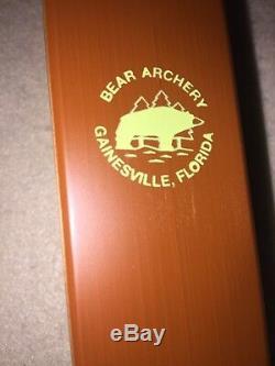 Bear Kodiak New for Recurve Bow RH 40# Satin Model Maple/Rosewood b1
