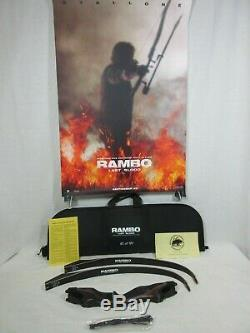 Bear Rambo Last Blood Take Down Recurve bow 60/199 limited edition 45 lbs