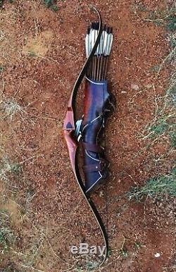 Bear Recurve Bow Kodiak 1961 Magnum Dogleg type I NEAR MINT RIGHT HAND vintage