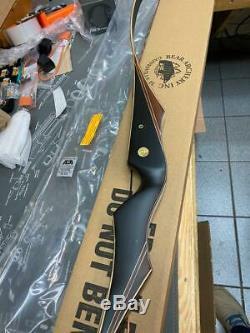 Bear Super Kodiak Black Phenolic Satin 64 50lb RH ASK176450R BLEMISH BOW