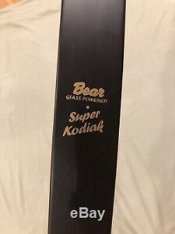 Bear Super Kodiak Right Hand Recurve Bow