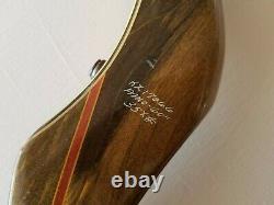Bear Super Kodiak w Fascor 35X# 60 Victor Target Recurve Bow RH Vintage Rare