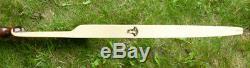 Bear Tamerlane Recurve 66 38#@28 Beautiful Rosewood Riser SN#12BX17