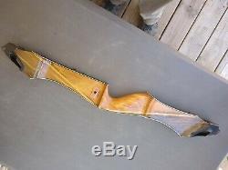 Bear Wood Vintage Kodiak Takedown C riser withWhite 35# 3 limbs Serial #17XX